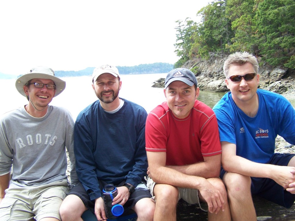 6. SaltSpring 2008, we turn 40